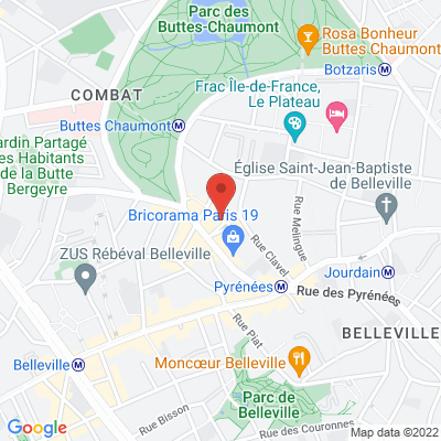 38 avenue simon bolivar, 75019 Paris 19e