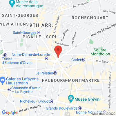 CAFE M - 1 rue de Maubeuge, 75009 Paris 9e