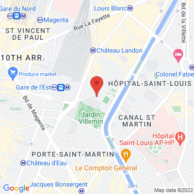 4 Square de Verdun, 75010 Paris 10e