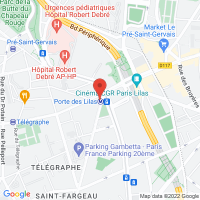 261 avenue Gambetta, 75020 Paris 20e