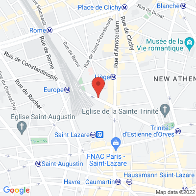 52 rue de Londres, 75008 Paris 8e