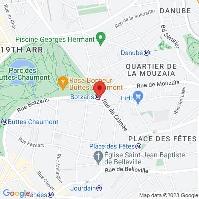 Carte Buttes Chaumont.Atelier Du Comite Des Buttes Chaumont Consacre Au Travail Paris
