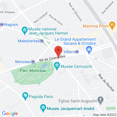 Boulevard de Courcelles, 75008 Paris 8e