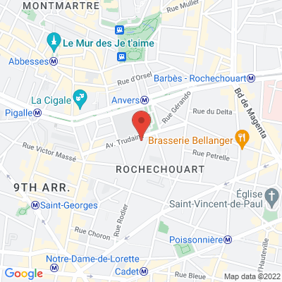 23 avenue Trudaine, 75009 Paris 9e