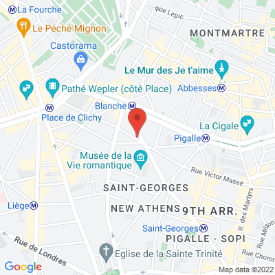 27 rue pierre fontaine, 75009 Paris 9e