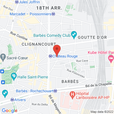 21 rue des Poissonniers, 75018 Paris 18e
