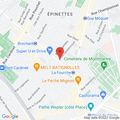 90 avenue de Clichy, 75017 Paris 17e