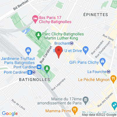 Le Tempo 18 rue Brochant, 75017 Paris 17e