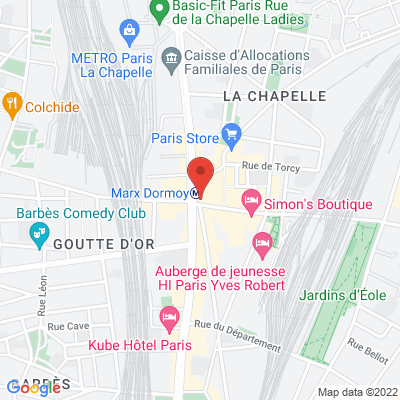 2 rue de La Chapelle, 75018 Paris 18e