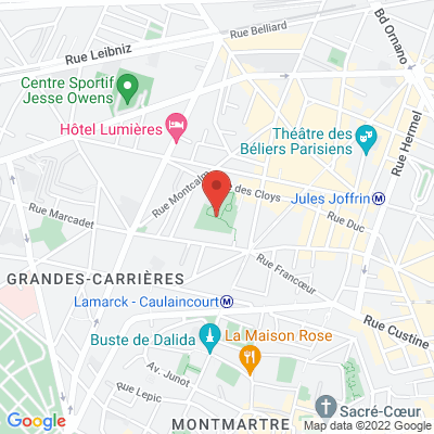 Square Serpollet, 75018 Paris 18e