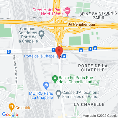 91 rue de la Chapelle, 75018 Paris 18e
