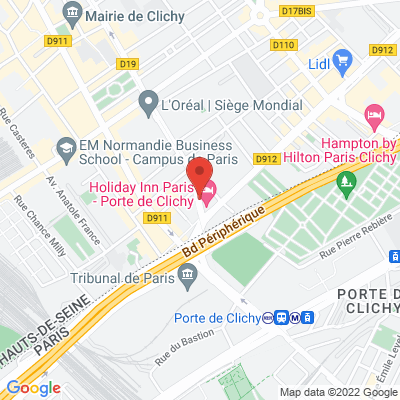 Holiday Inn - Door's - 2 rue du 8 Mai 1945, 92110 Clichy