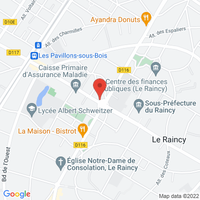 5 rond point Thiers, 93340 Le Raincy