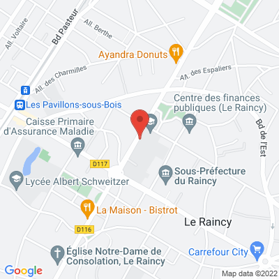 2 avenue de livry, 93340 Le Raincy