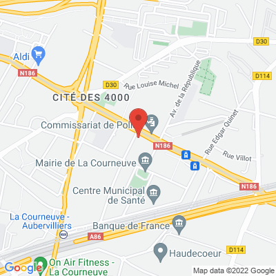 40 avenue de la Convention, 93120 La Courneuve