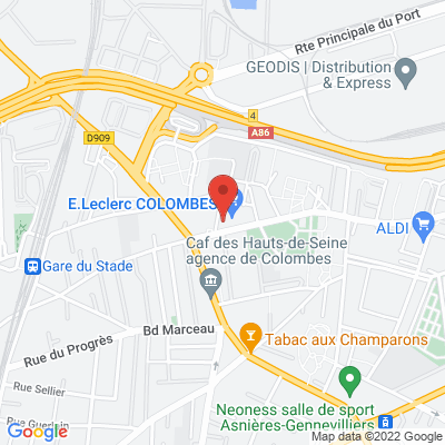21 Rue Jules Michelet, 92700 Colombes