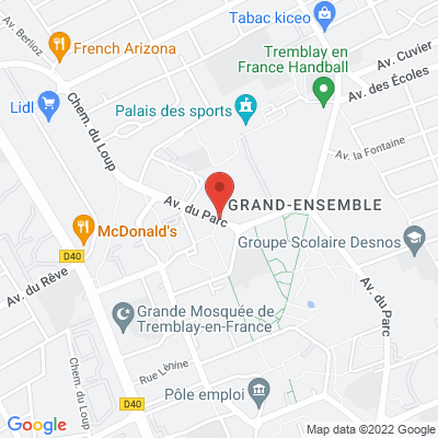 Parc des sports Georges Prudhomme, 93290 Tremblay-en-France