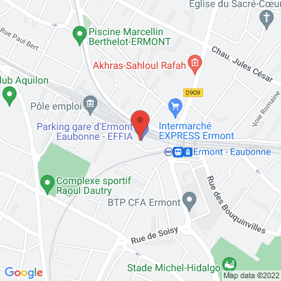 Place Danton (Parking Danton), 95600 Eaubonne