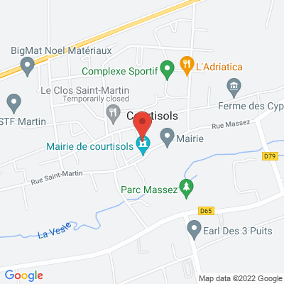 Mairie de Courtisols, 51460 Courtisols