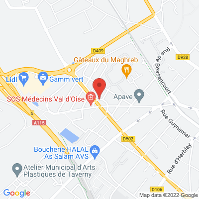 place des 7 fontaines, 95150 Taverny