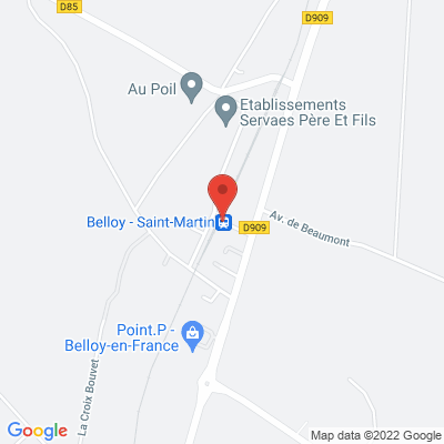 Gare de Belloy en France, 95270 Belloy-en-France