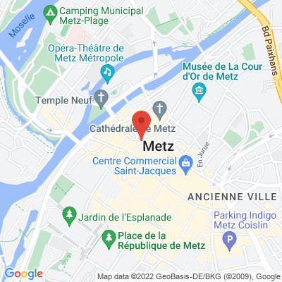 place Jean-Paul 2, 57000 Metz