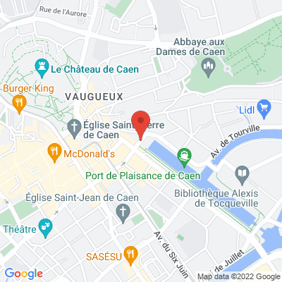 Place Courtonne, 14000 Caen