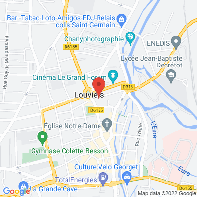 2 place Ernest Thorel, 27400 Louviers