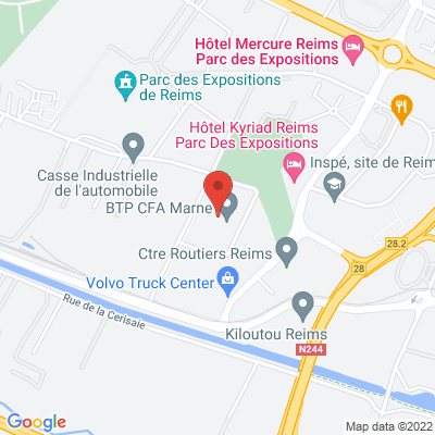 Cfa btp 31 avenue hoche, 51100 Reims