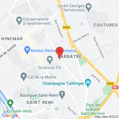 maison des associations 122 rue du barbatre, 51100 Reims