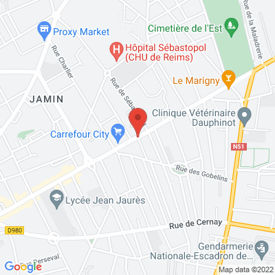 avenue jean jaures, 51100 Reims