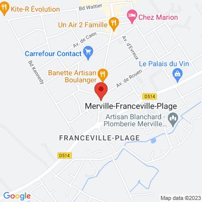 Cafe De Paris Merville Franceville