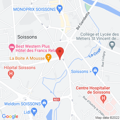 Rond point du Vase, 02200 Soissons