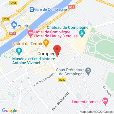 1 place Saint Jacques, 60200 Compiègne