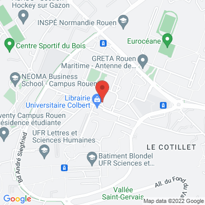 place Colbert, 76130 Mont Saint Aignan, France