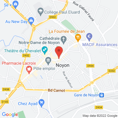 Place Bertrand Labarre, 60400 Noyon