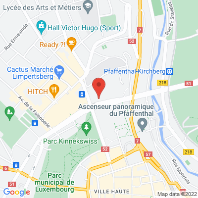 1 rond point Schuman ( Brasserie Schuman ), 2525 Luxembourg, Luxembourg