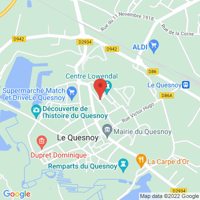 salla Vauban centre Lowendal, 59530 Le Quesnoy