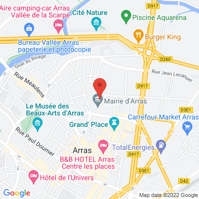 RDV parking de la mairie, 62000 Arras