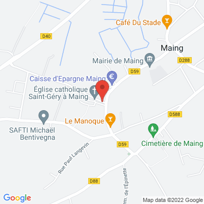 Place Cuvelier, 59233 Maing