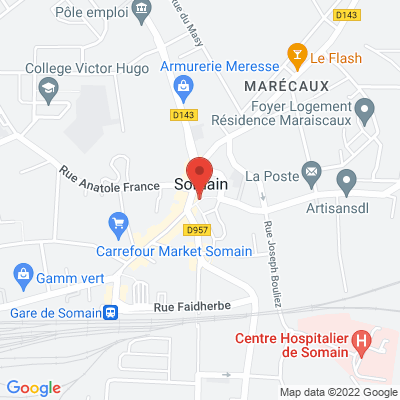 Place Jean Jaures, 59490 Somain