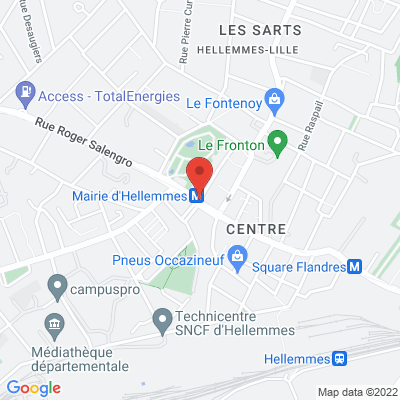 Place HENTGES, 59260 Lille