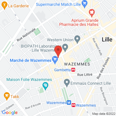 2 rue saint pierre saint paul, 59800 Lille