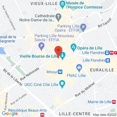 21 place Charles De Gaulle, 59000 Lille