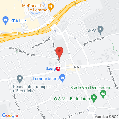 LOMME, 59160 Lille