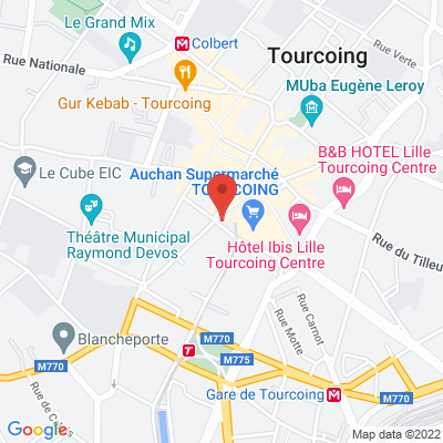 9 place Charles et Albert Roussel, 59200 Tourcoing