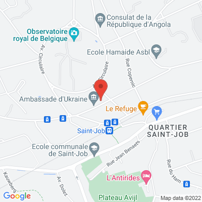 Avenue Albert Lancaster 36, 1180 Uccle, Belgique