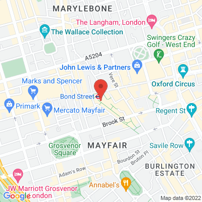Jak's Mayfair  43 South Molton Street, W1K5RS London, Royaume-Uni