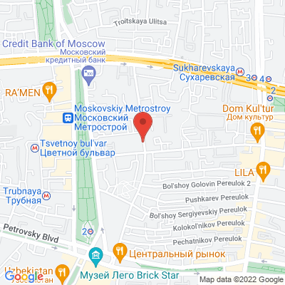 Trubnaya St. 23/2 Moscow 127051 Russia, 127051 Moscou, Russie